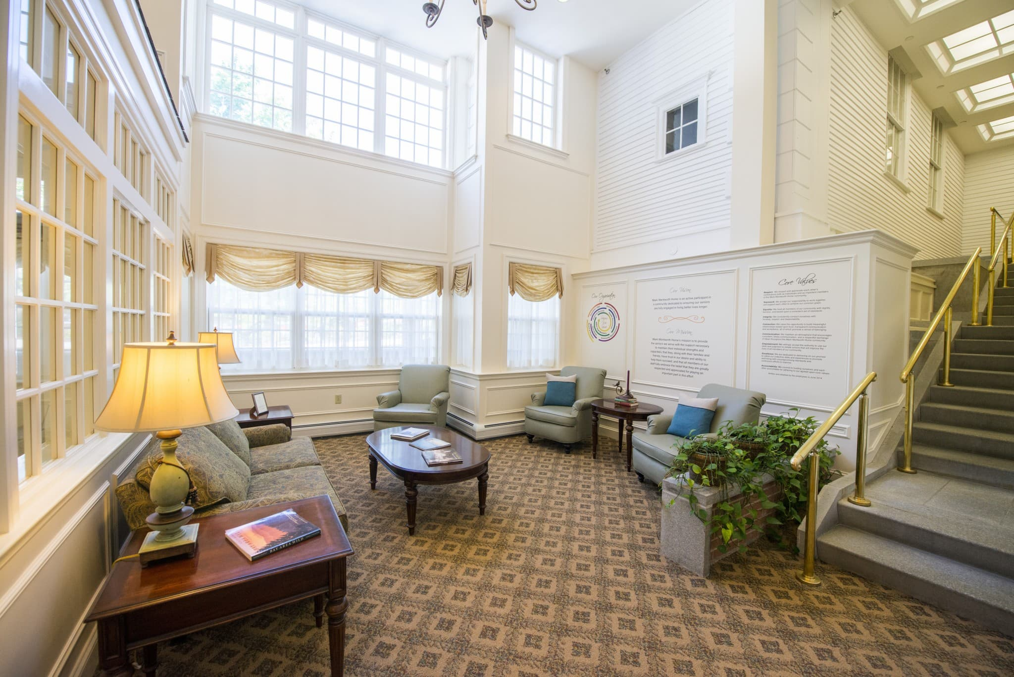 Family and visitors can enjoy our lovely and comfortable waiting area